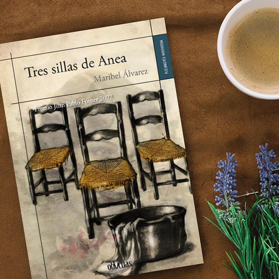 Tres sillas de Anea